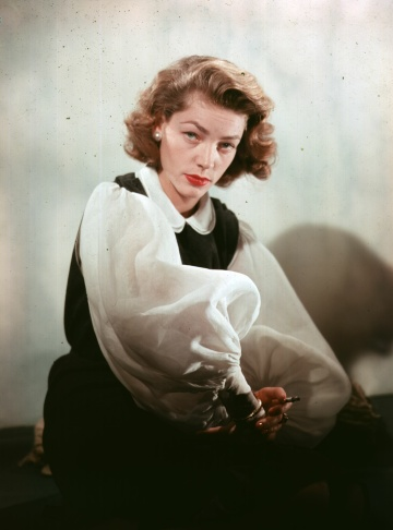 A photograph signed by Lauren Bacall is seen at Bonhams and Butterfields on April 14, 2011 in Los Angeles during a preview before an auction.