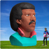 Lionel Richie's head