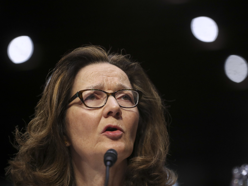 CIA nominee Gina Haspel testifies before the Senate intelligence committee on Wednesday. Alleged Sept. 11 planner Khalid Sheikh Mohammed says he has information that could be relevant to her nomination.