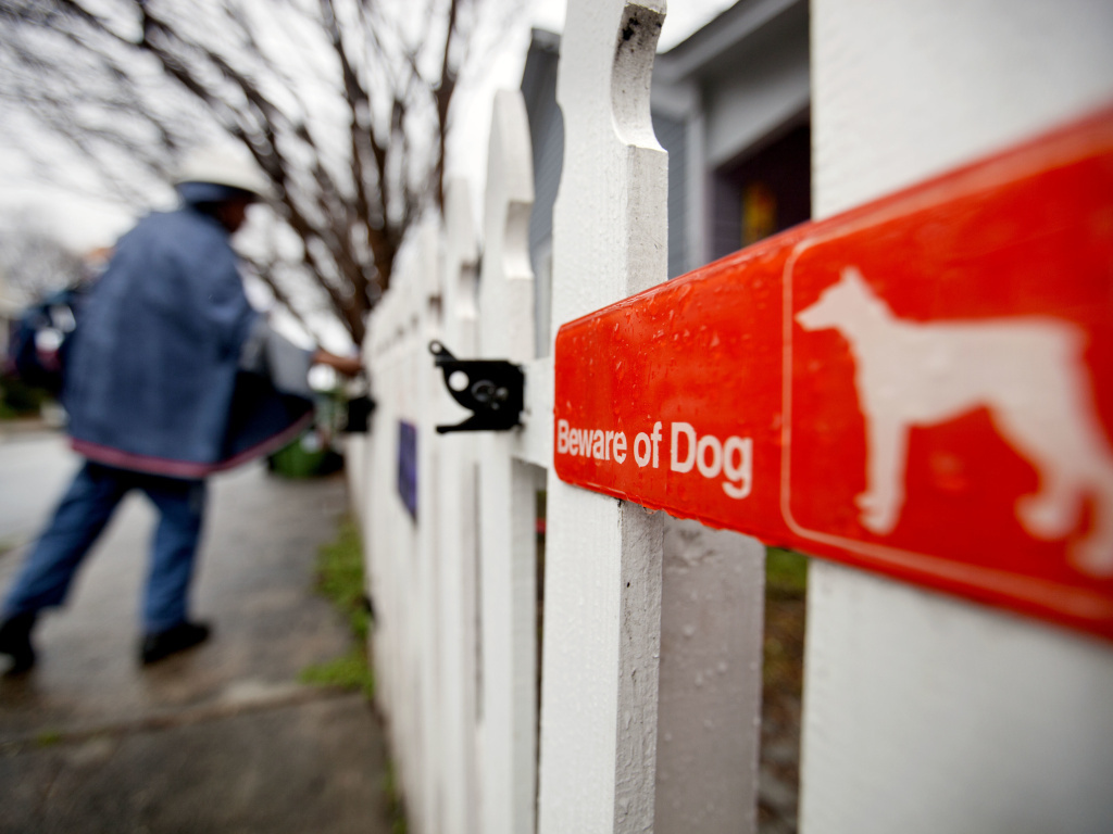 Postal Service reports increase in dog attacks on letter