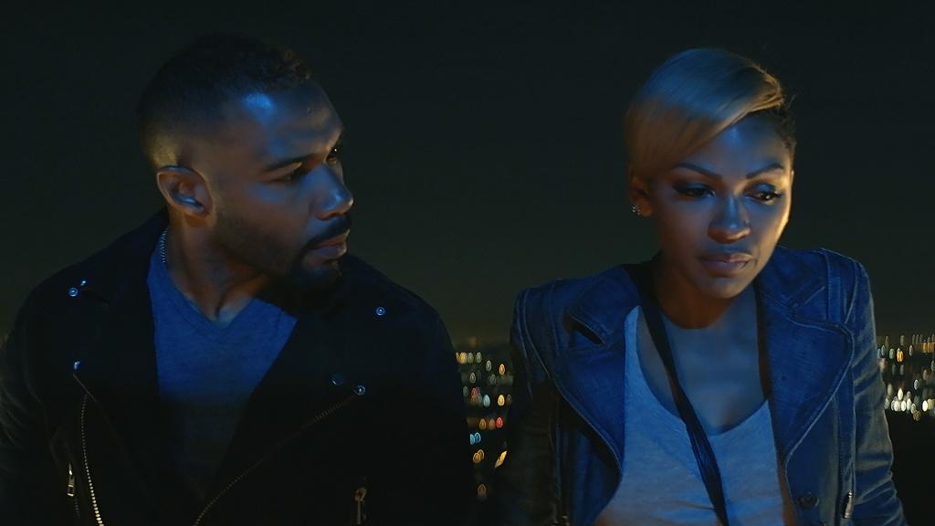 Omari Hardwick & Meagan Good in Samuel Goldwyn Films'