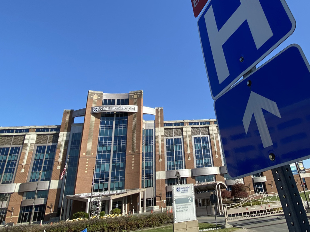 Saint Luke's Hospital of Kansas City is one of the 18 hospitals in the Saint Luke's Health System. Two-thirds of the COVID-19 patients transferred to Saint Luke's from rural areas need intensive care.
