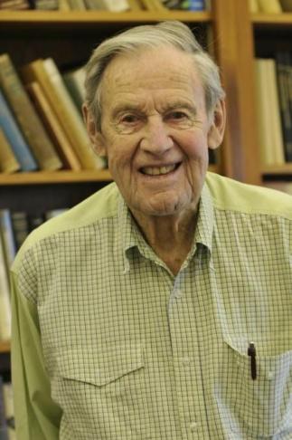 Robert F. Christy, Manhattan Project veteran who died Wednesday, Oct. 3.