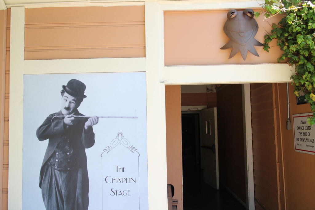 The Jim Henson Company's studio originally belonged to Charlie Chaplin. They've kept his name as one of their stages.