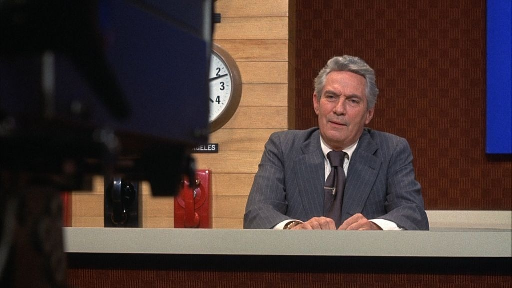 Peter Finch in Lumet's 1976 film