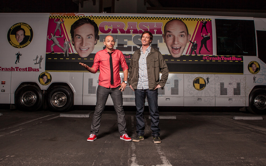 Paul Scheer and Rob Huebel take their
