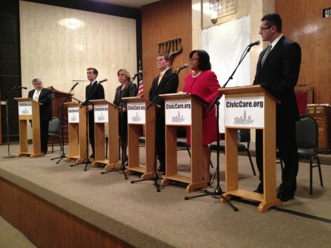 First L.A. mayoral debate of 2013