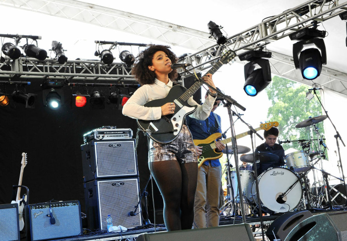 Lianne La Havas performs at House Festival, Chiswick House & Gardens on July 5, 2012 in London, England. The festival from the Soho House Group supports The Chiswick House & Gardens Trust and WarChild.