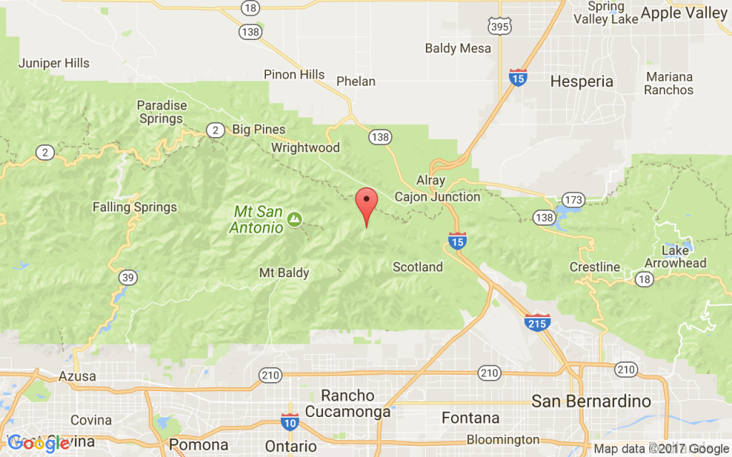 Evacuations ordered as brush fire burns in San Bernardino mountains