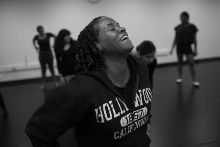 Students dance in the after-school Greenway Arts Alliance program, a magnet program within Fairfax high school.
