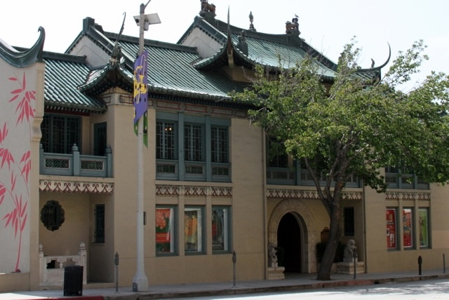 Exterior of the newly-named USC Pacific Asia Museum. The university announced that it would be taking over management of the museum.