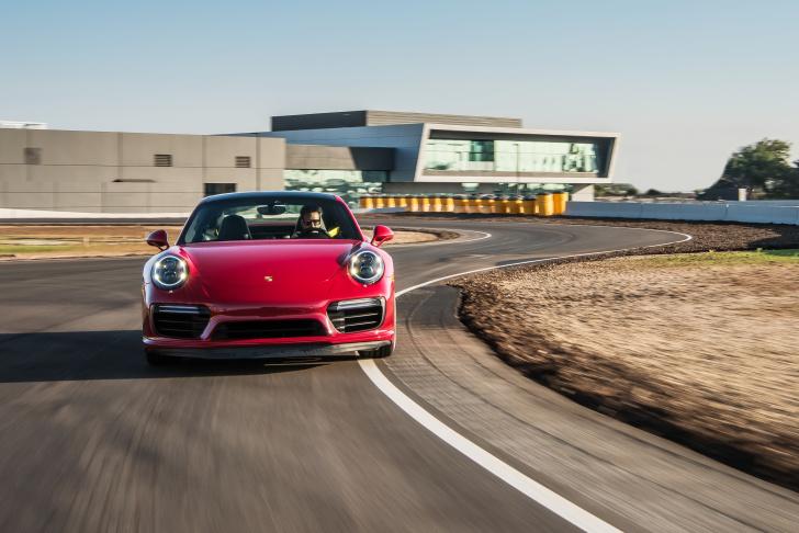 Take Two Slideshow Porsche Experience Center Races Into