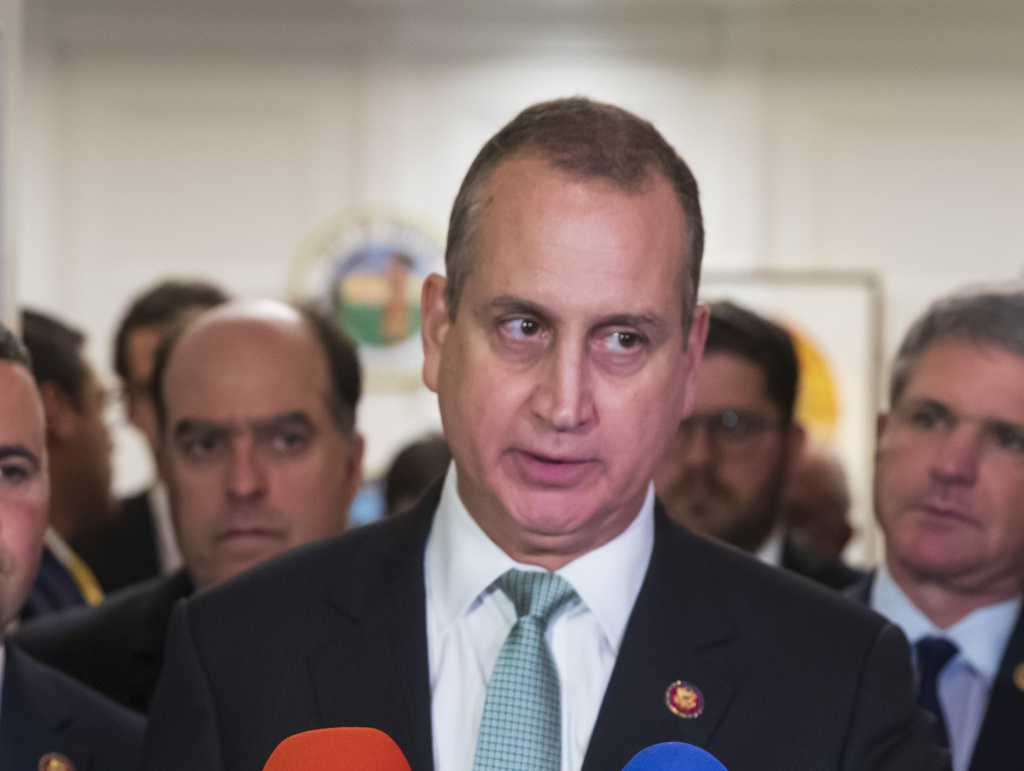 Rep. Mario Diaz-Balart, R-Fla., said on Wednesday that he tested positive for COVID-19, making him the first member of Congress to contract the coronavirus.