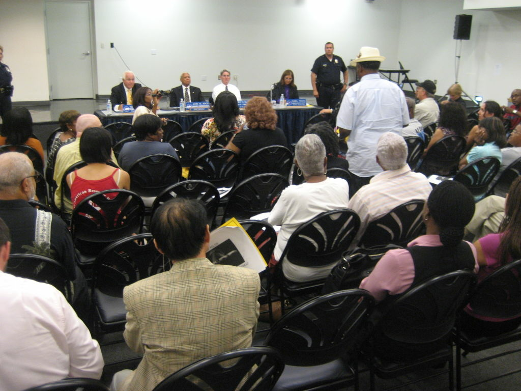 South L.A. residents speak at Police Commission meeting seeking the public's input on the next LAPD chief.