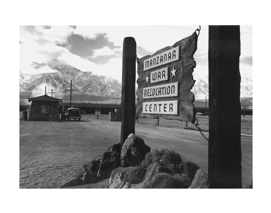 Ansel Adams Manzanar internment camp