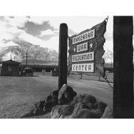 Ansel Adams Manzanar internment camp