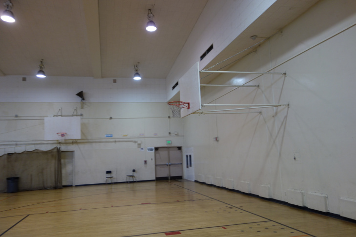 Olive Vista Middle School gym