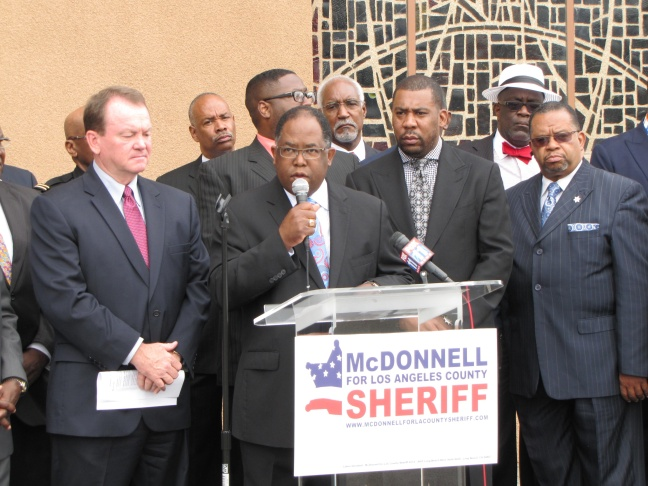 Ridley-Thomas endorses McDonnell for Sheriff
