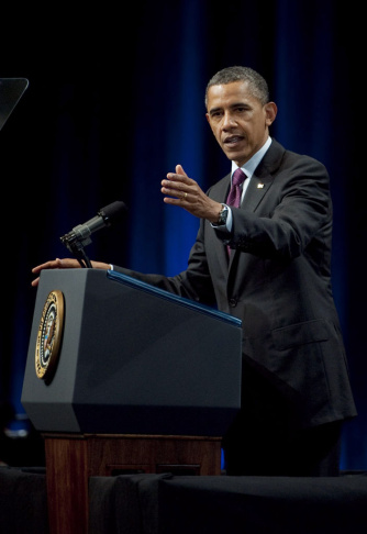 President Obama Speaks At Nat'l Association Of Latino Elected Officials Conference