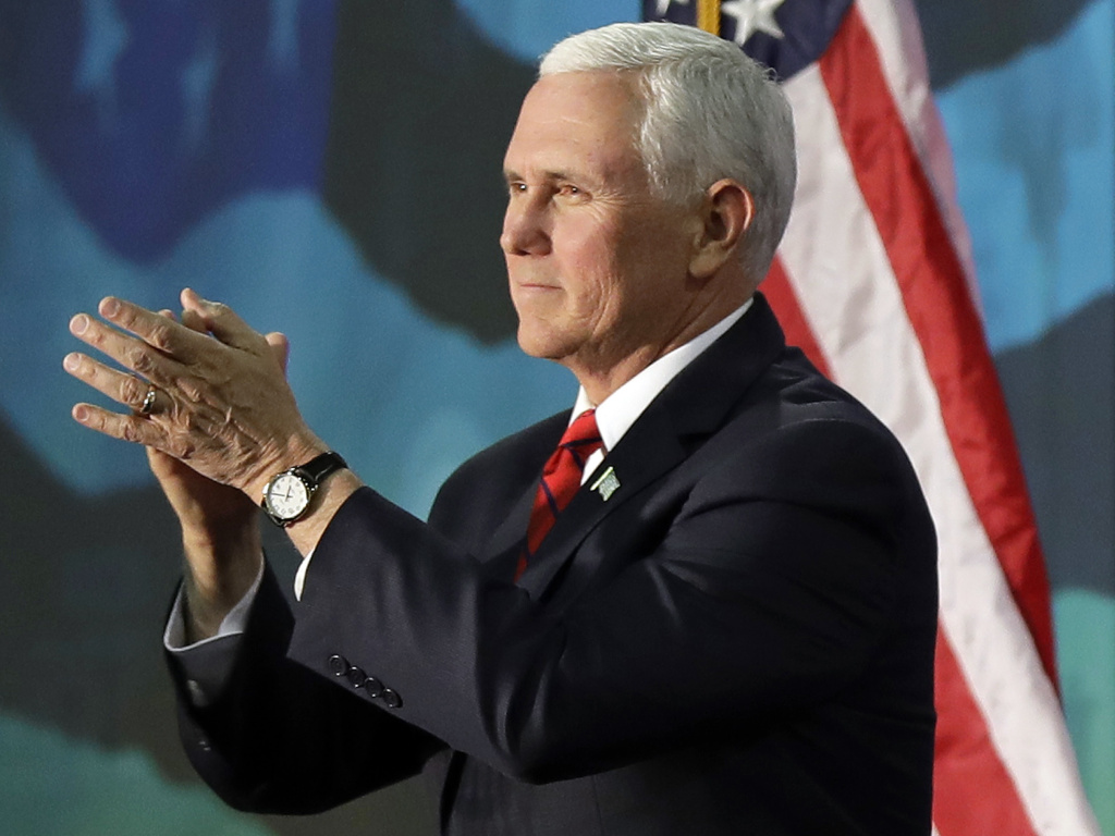 Vice President Mike Pence will deliver the keynote address at the annual NRA convention in Dallas on Friday.