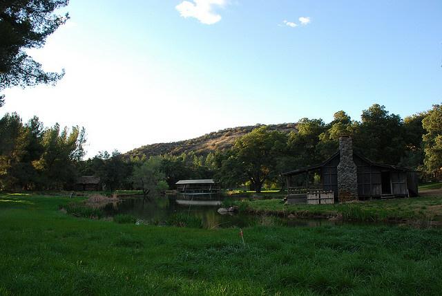Golden Oaks Ranch film and TV facility in Santa Clarita.