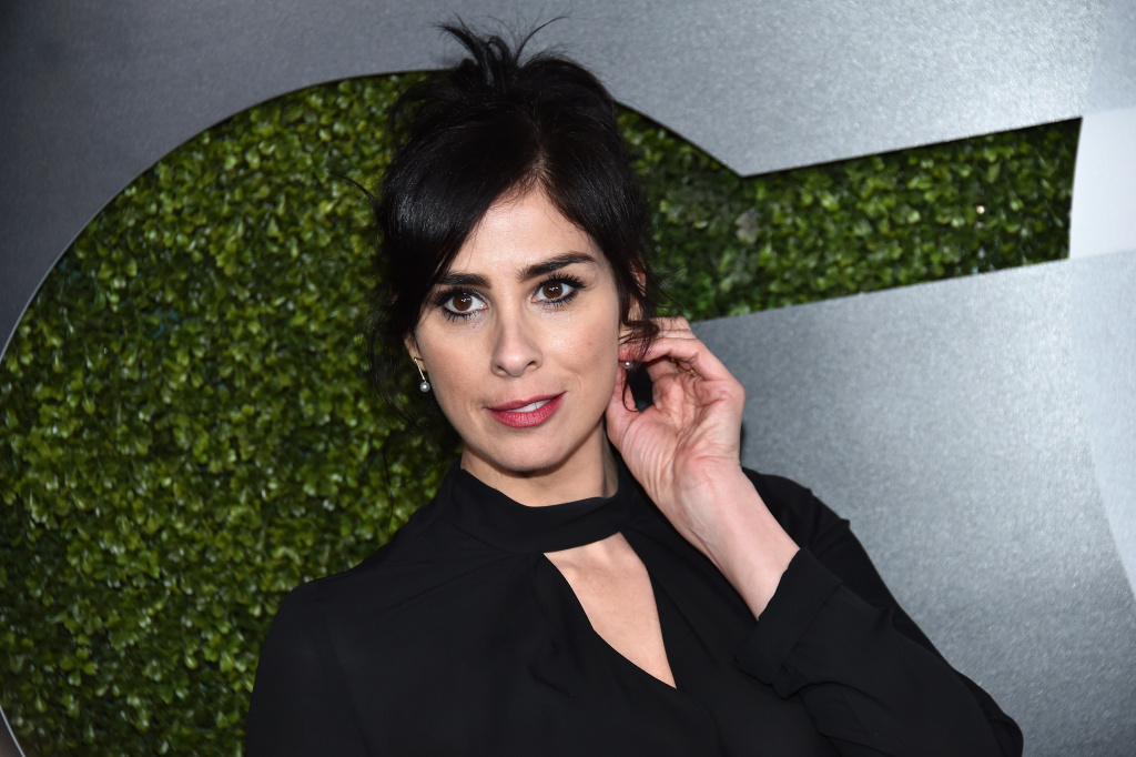 Comedian Sarah Silverman has been nominated for a SAG Award for her role in