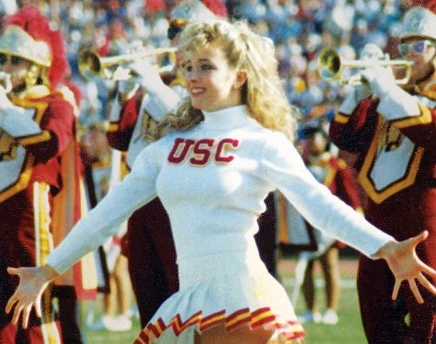 USC Song Girl Claudene Christian, c1988.
