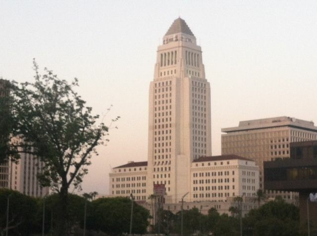 The Coalition of LA City Unions presented its financial proposals to the Budget and Finance Committee Monday.
