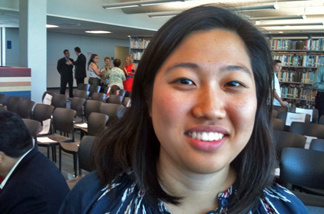Jaime Kim is one of many undocumented students who witnessed Governor Brown sign the California Dream Act at Los Angeles City College. The new law allows undocumented students access to privately financed scholarships at public colleges, but not public money. That's their next battle.