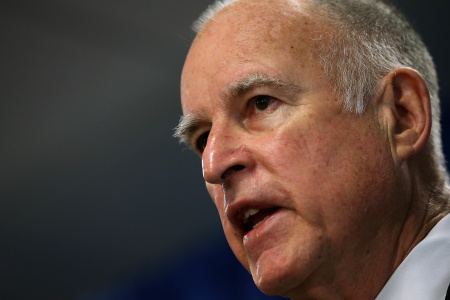Gov. Jerry Brown is in Mexico to meet with officials about economic and environmental cooperation with California.