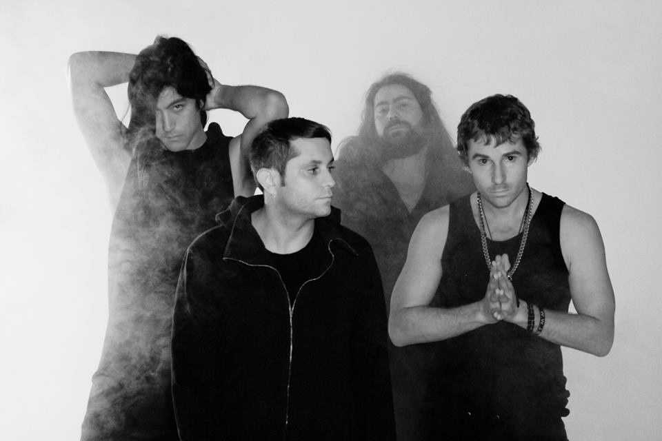 The L.A. noise rock band Health.