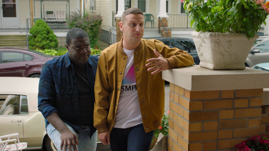 One Stoop, Two Stupids: Sam (Sam Richardson) and Tim (Tim Robinson) are back in the second season of <em>Detroiters</em>.