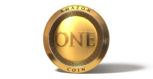 Screenshot of an Amazon Coin.
