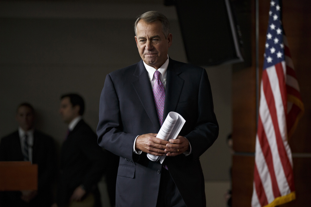 House Speaker John Boehner of Ohio said Thursday that it's unlikely there will be enough cooperation among lawmakers for an immigration overhaul to pass this year, a week after he and fellow House Republicans unveiled their template for immigration reform.