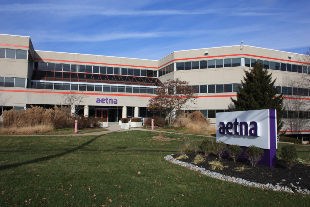 Aetna office building.