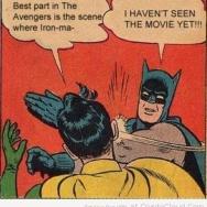 Don't spoil the ending, Robin!