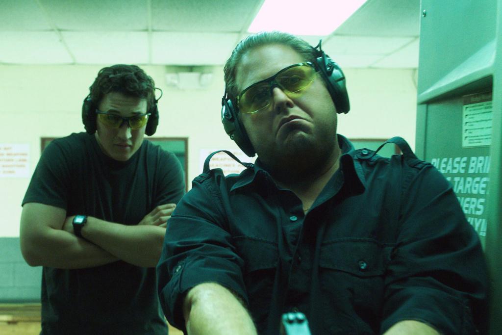 "In ""War Dogs"", Jonah Hill (R) portrays Effraim Diveroli and Miles Teller plays David Packouz."