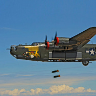 The Collings Foundation's restored B-24 Liberator.