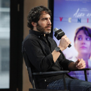 "Filmmaker Chris Messina participates in AOL's BUILD Speaker Series to discuss his film ""Alex of Venice"" at AOL Studios on Wednesday, April 1, 2015, in New York. (Photo by Andy Kropa/Invision/AP)"