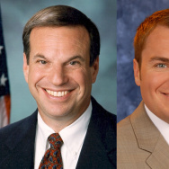 San Diego mayoral candidates Bob Filner and Carl DeMaio