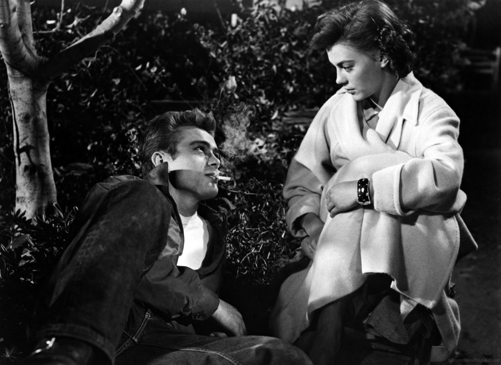 Natalie Wood & James Dean in
