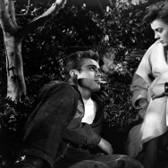 """Natalie Wood & James Dean in """"Rebel Without a Cause"""" (1955)"""