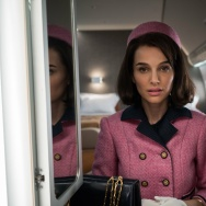 "A scene from the film ""Jackie"" starring Natalie Portman."