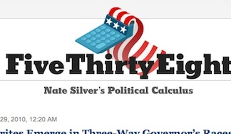 Nate Silver is a statistician and blogger for the New York Times.