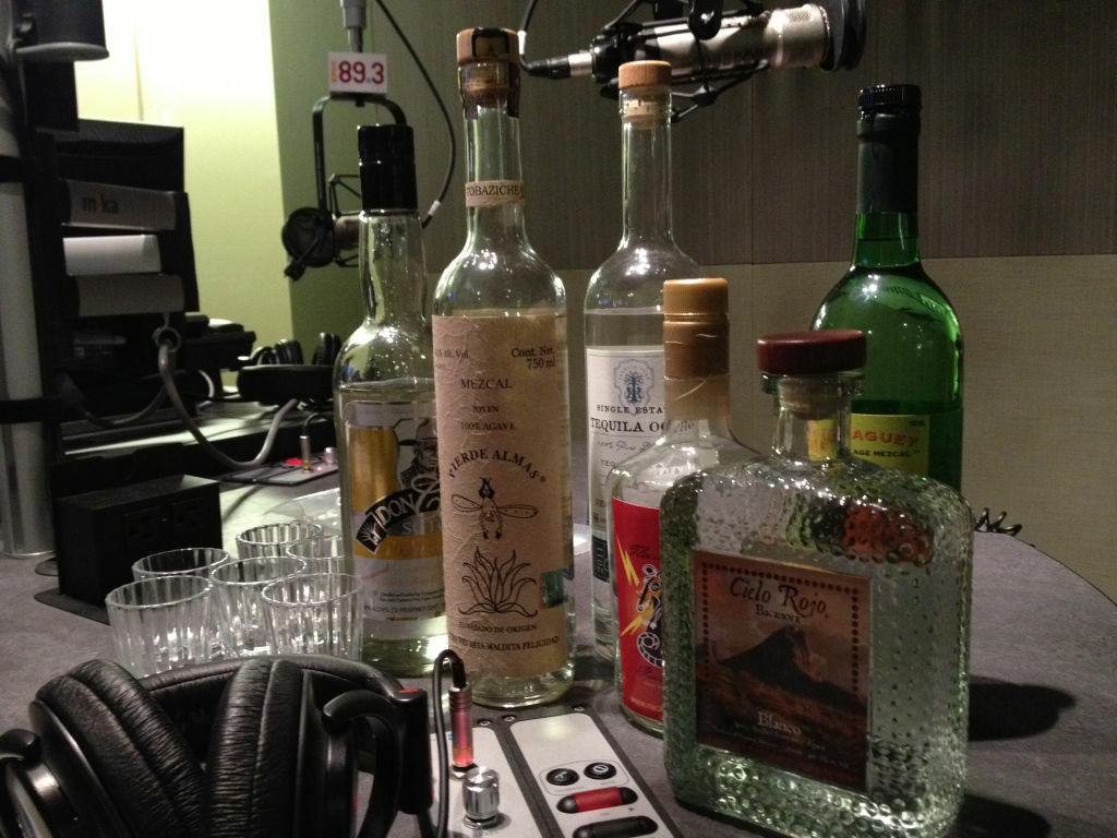Bricia Lopez from the Oaxacan restaurant dropped by the Take Two studio to show us some alternative Mexico-made distillates to Tequila and Mezcal.