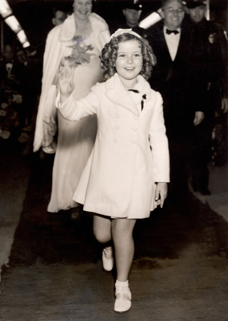 Famous child actress Shirley Temple.