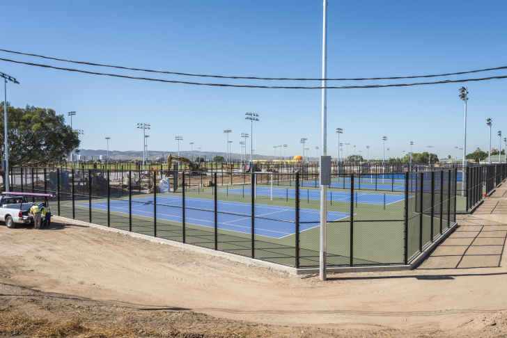 Phase 1 Orange County Great Park's 53-acre sports park is estimated to be completed by 2018.