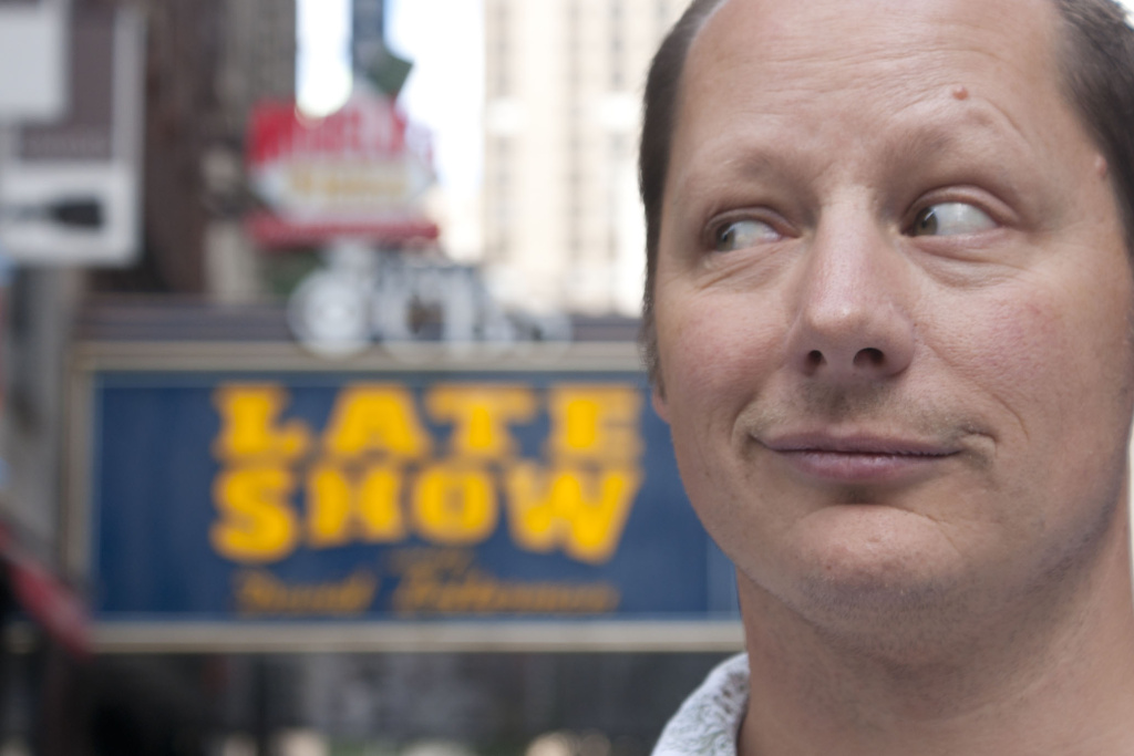 "Comedian Steve Mazan, who attempts to appear on ""The Late Show with David Letterman,""after learning he has cancer. His struggle is the subject of the film ""Dying to do Letterman."""