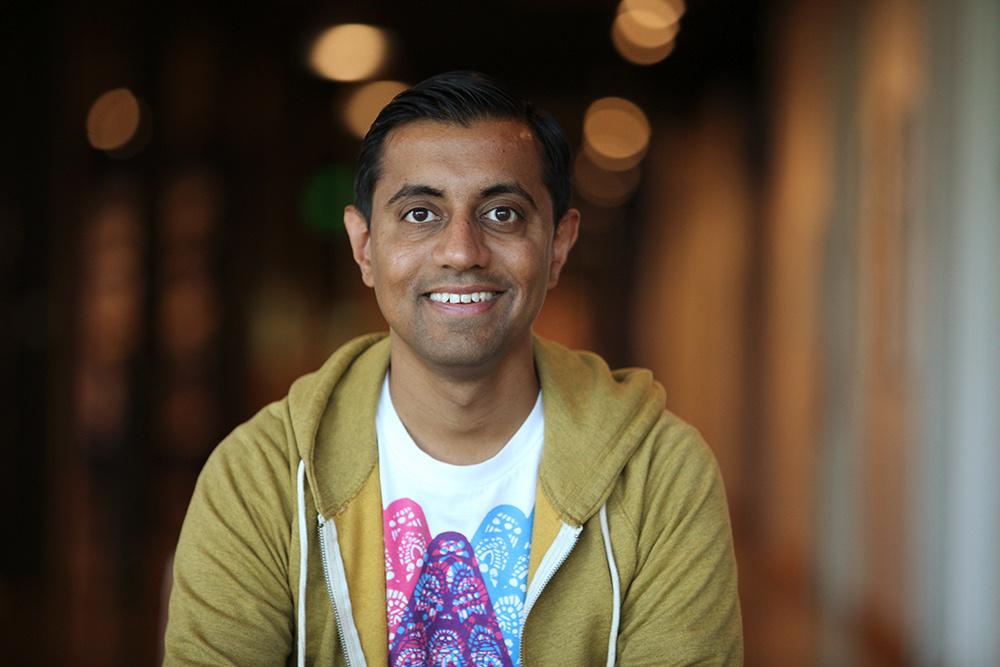 Sanjay Patel photographed June 4, 2015, at Pixar Animation Studios in Emeryville, Calif.
