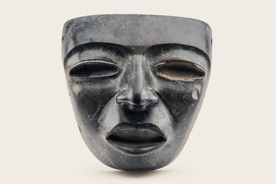 Mask, Sun Pyramid, Teotihuacan, Mexico, 350–550